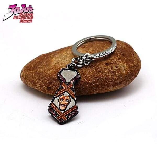 necktie keychain jojos bizarre adventure merch 335 - Jojo's Bizarre Adventure Merch