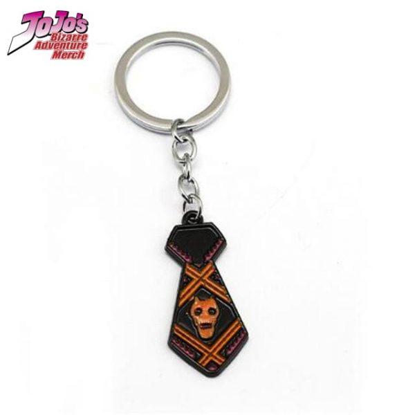 necktie keychain jojos bizarre adventure merch 432 - Jojo's Bizarre Adventure Merch