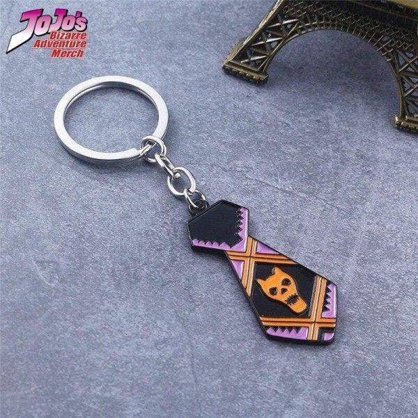 necktie keychain jojos bizarre adventure merch 815 - Jojo's Bizarre Adventure Merch