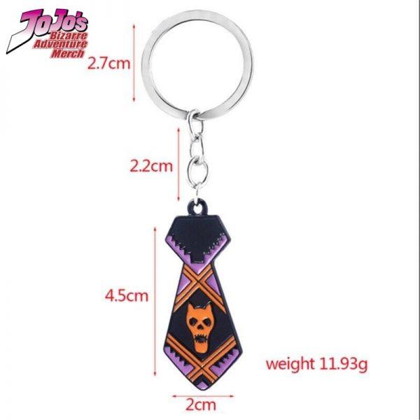 necktie keychain jojos bizarre adventure merch 838 - Jojo's Bizarre Adventure Merch