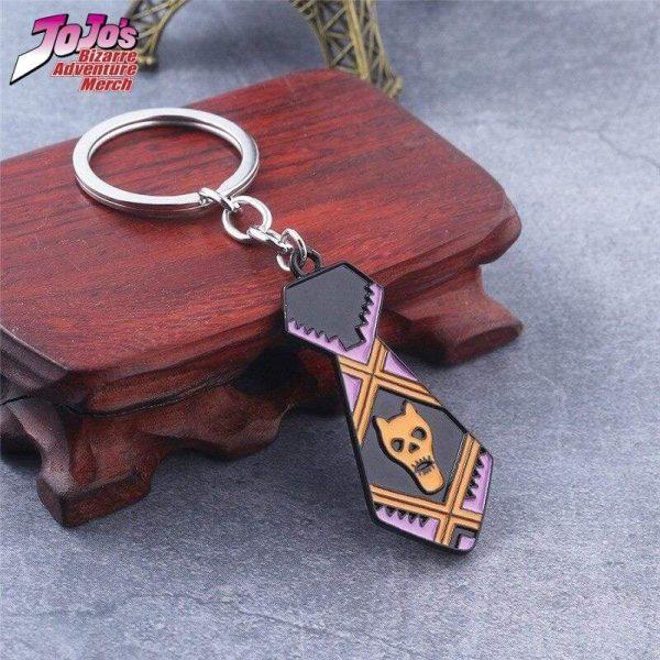necktie keychain jojos bizarre adventure merch 841 - Jojo's Bizarre Adventure Merch