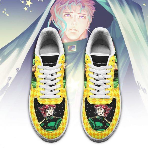 noriaki kakyoin air force sneakers jojo anime shoes fan gift idea pt06 gearanime 2 - Jojo's Bizarre Adventure Merch