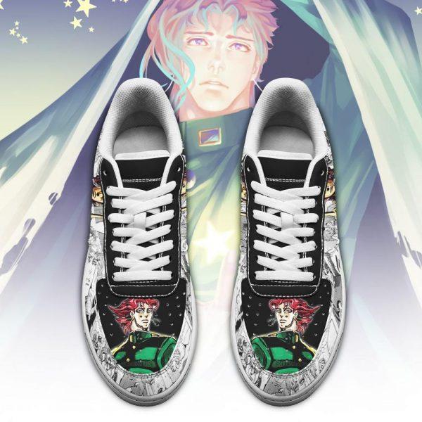 noriaki kakyoin air force sneakers manga style jojos anime shoes fan gift pt06 gearanime 2 - Jojo's Bizarre Adventure Merch