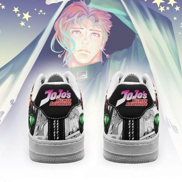 noriaki kakyoin air force sneakers manga style jojos anime shoes fan gift pt06 gearanime 3 - Jojo's Bizarre Adventure Merch