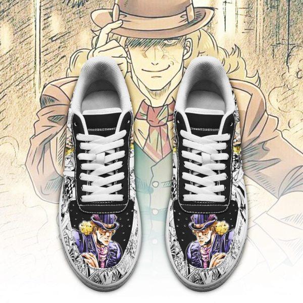 robert speedwagon air force sneakers manga style jojos anime shoes fan gift pt06 gearanime 2 - Jojo's Bizarre Adventure Merch