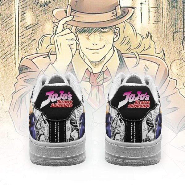 robert speedwagon air force sneakers manga style jojos anime shoes fan gift pt06 gearanime 3 - Jojo's Bizarre Adventure Merch