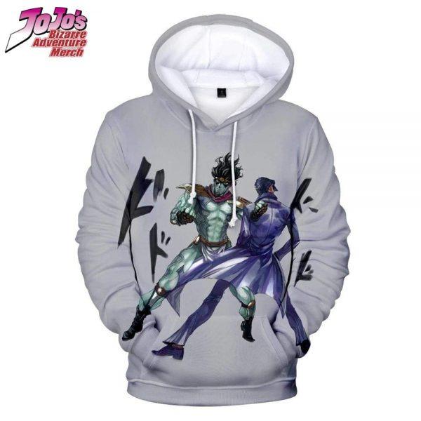 star platinum jojo hoodie jojos bizarre adventure merch 722 - Jojo's Bizarre Adventure Merch