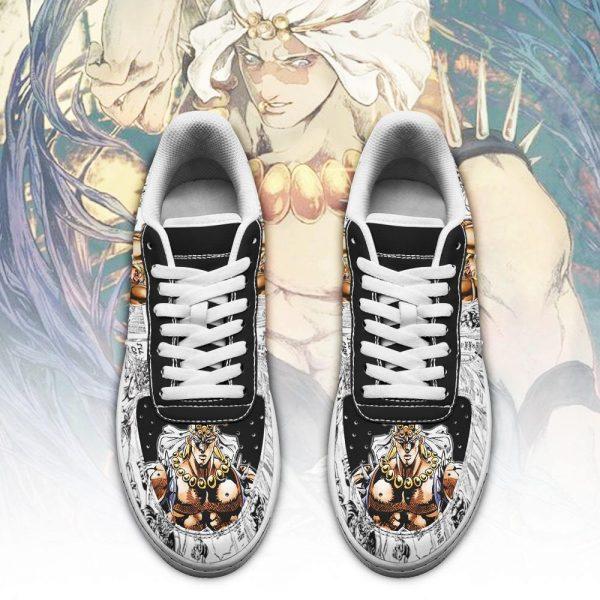 wamuu air force sneakers manga style jojos anime shoes fan gift idea pt06 gearanime 2 - Jojo's Bizarre Adventure Merch
