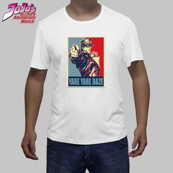 yare yare daze shirt jojos bizarre adventure merch 336 - Jojo's Bizarre Adventure Merch