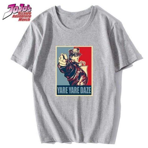 yare yare daze shirt jojos bizarre adventure merch 446 - Jojo's Bizarre Adventure Merch