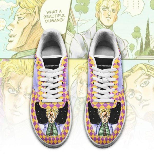 yoshikage kira air force sneakers jojo anime shoes fan gift idea pt06 gearanime 2 - Jojo's Bizarre Adventure Merch