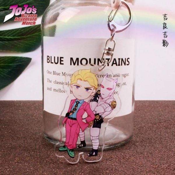 yoshikage kira keychain jojos bizarre adventure merch 739 - Jojo's Bizarre Adventure Merch
