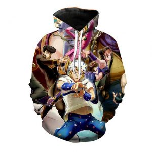 JoJo's Bizarre Adventure  Joestar Family Stylish Hoodie Jojo's Bizarre Adventure Merch