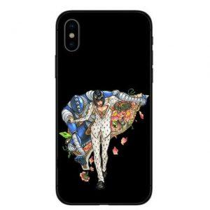 JoJo's Bizarre Adventure - Bruno Bucciarati and Sticky Fingers iPhone Case Jojo's Bizarre Adventure Merch