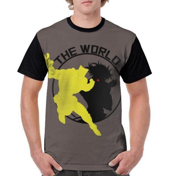 JoJo's Bizarre Adventure  Dio x The World T-Shirt Jojo's Bizarre Adventure Merch