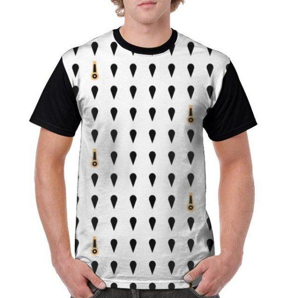 JoJo's Bizarre Adventure  Bucciarati Symbols T-Shirt Jojo's Bizarre Adventure Merch
