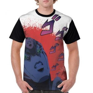 JoJo's Bizarre Adventure  Diavolo's Stand King Crimson T-Shirt Jojo's Bizarre Adventure Merch