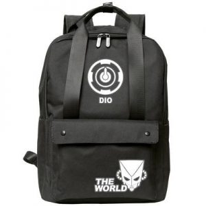 JoJo's Bizarre Adventure - Dio x The World Backpack Jojo's Bizarre Adventure Merch