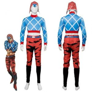 JoJo's Bizarre Adventure - Guido Mista Cosplay Jojo's Bizarre Adventure Merch