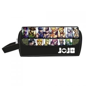 JoJo's Bizarre Adventure - Jojo Main Characters Pencil Case Jojo's Bizarre Adventure Merch