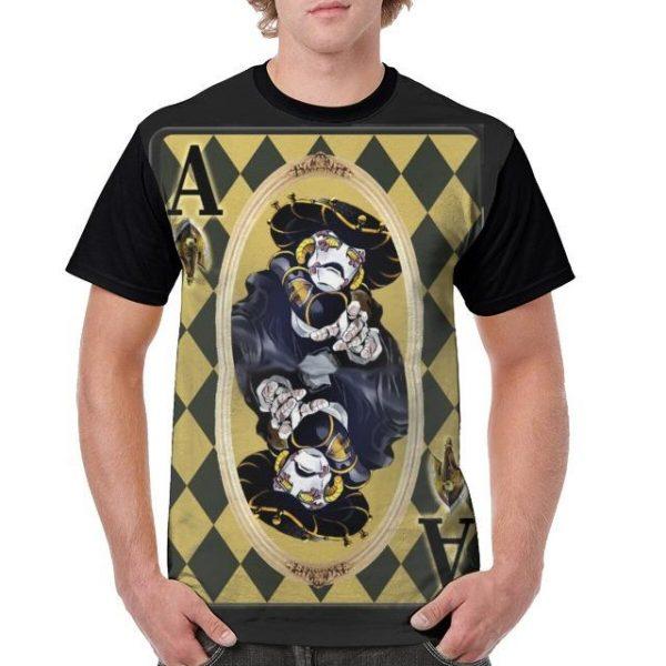 JoJo's Bizarre Adventure  Polpo's Stand Black Sabbath T-Shirt Jojo's Bizarre Adventure Merch