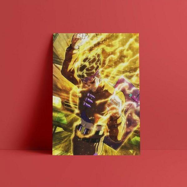 JoJo's Bizarre Adventure - Rohan Kishibe Wall Art Jojo's Bizarre Adventure Merch
