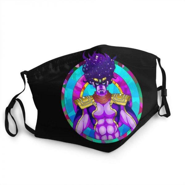 JoJo's Bizarre Adventure - Star Platinum Face Mask Jojo's Bizarre Adventure Merch