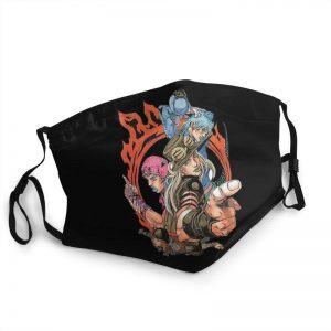 JoJo's Bizarre Adventure - Steel Ball Run Face Mask Jojo's Bizarre Adventure Merch