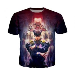 JoJo's Bizarre Adventure  Josuke Higashikata Crazy Diamond T-Shirt Jojo's Bizarre Adventure Merch