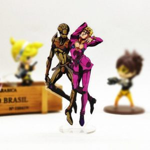 JoJo's Bizarre Adventure  Giorno and Gold Experience Figure Jojo's Bizarre Adventure Merch