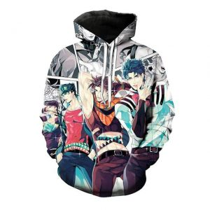 JoJo's Bizarre Adventure  Joestar Family Hoodie Jojo's Bizarre Adventure Merch