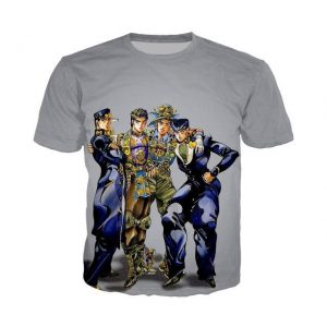 JoJo's Bizarre Adventure  Joestar Family Stylish T-Shirt Jojo's Bizarre Adventure Merch