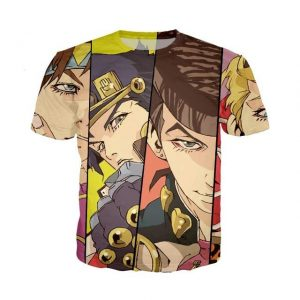 JoJo's Bizarre Adventure  Jojo Joestar Family T-Shirt Jojo's Bizarre Adventure Merch