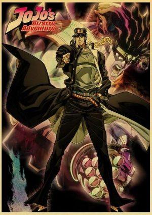 JoJo's Bizarre Adventure - Jotaro Kujo Poster Jojo's Bizarre Adventure Merch