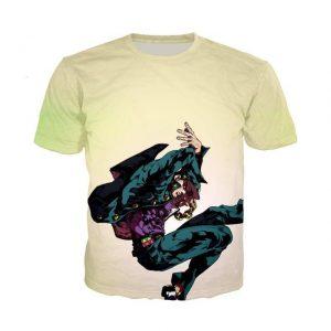 JoJo's Bizarre Adventure  Jotaro Kujo Stylish Pose T-Shirt Jojo's Bizarre Adventure Merch