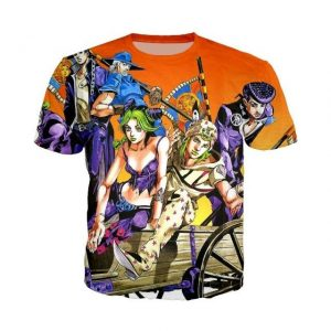JoJo's Bizarre Adventure  The Joestar Family T-Shirt Jojo's Bizarre Adventure Merch