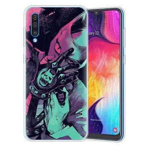 JoJo's Bizarre Adventure - Killer Queen Iconic Pose Samsung Case Jojo's Bizarre Adventure Merch