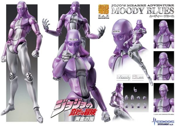 JoJo's Bizarre Adventure - Moody Blues Action Figure Jojo's Bizarre Adventure Merch