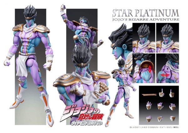 JoJo's Bizarre Adventure - Star Platinum Action Figure Jojo's Bizarre Adventure Merch