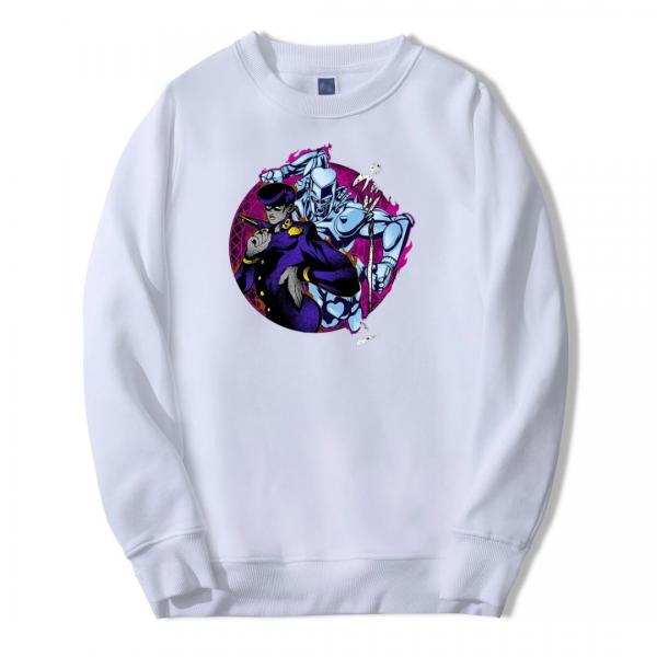 osuke and Crazy Diamond Sweatshirt - Jojo's Bizarre Adventure Merch