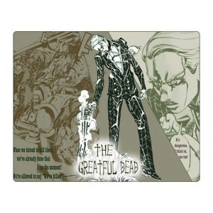JoJo's Bizarre Adventure - Prosciutto Mouse Pad Jojo's Bizarre Adventure Merch