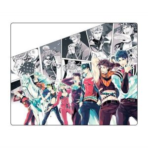 JoJo's Bizarre Adventure - Joestar Generations Mouse Pad Jojo's Bizarre Adventure Merch