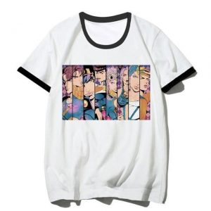 JoJo's Bizarre Adventure - The JoJo Family T-Shirt Jojo's Bizarre Adventure Merch