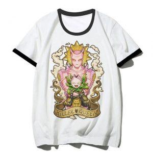 JoJo's Bizarre Adventure  Killer Queen x Stray Cat Stands T-Shirt Jojo's Bizarre Adventure Merch