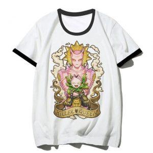 JoJo's Bizarre Adventure - Killer Queen x Stray Cat Stands T-shirt-jojo Jojo's Bizarre Adventure Merch