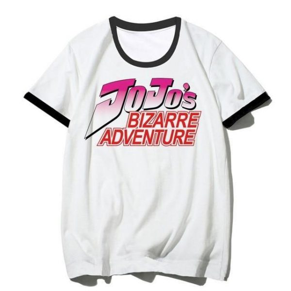 JoJo's Bizarre Adventure - JJBA Logo T-shirt-jojo Jojo's Bizarre Adventure Merch