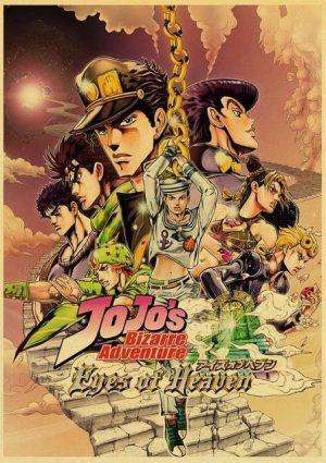 JoJo's Bizarre Adventure - Eyes of Heaven Poster Jojo's Bizarre Adventure Merch