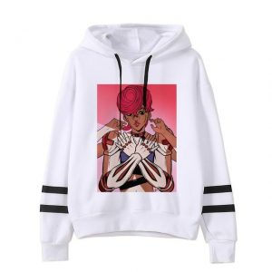JoJo's Bizarre Adventure  Trish Una x Spice Girl Hoodie Jojo's Bizarre Adventure Merch