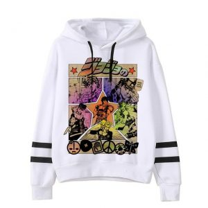 JoJo's Bizarre Adventure  The Joestars Hoodie Jojo's Bizarre Adventure Merch