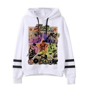 JoJo's Bizarre Adventure - The Joestars Hoodie Jojo's Bizarre Adventure Merch